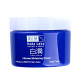 Spesifikasi Hada Labo Shirojyun Ultimate Whitening Night Cream Yg Baik