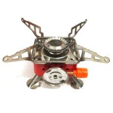 Halona - Kompor Gunung Portable Mini Gas Kaleng For Camping/Hiking/Adventure And Survival Best Quality - Merah