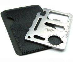 Beli Halona Pisau Kartu Multifungsi Survival Card Knife Tool Silver Pake Kartu Kredit