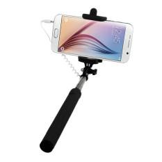 Genggam Bisa Dijepret Sendiri Tripod Monopod Stick untuk Smartphone (Hitam)-Intl