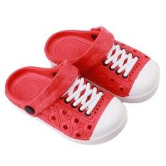 Hanyu Anak's Summer Cool Sandal Nyaman Bernapas Lovely Kid's Sepatu Sandal (Merah)