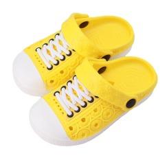 Hanyu Anak's Summer Cool Sandal Nyaman Bernapas Lovely Kid's Sepatu Sandal (Kuning)