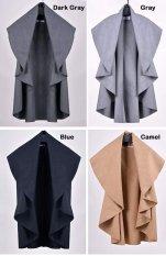 Happycat Baru Hot Sale Kaus Fesyen Wol Mantel Wanita Mulia Elegan Cape/Selendang Poncho Bungkus Selendang Coat (Swallow Gird) (biasa)