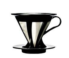 Jual Hario Cafeor Dripper 02 Black Import