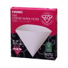 Miliki Segera Hario Paper Filter Vcf 02 40W Putih