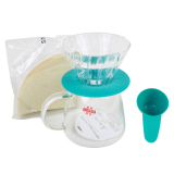 Jual Cepat Hario V60 Glass Dripper And Pot Clair Tosca
