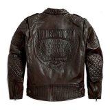 Toko Harley Davidson Jaket Kulit 97015 15Vm Hitam Indonesia