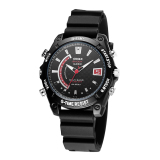 Beli Hd Dv Real 1080 P Waterproof Wrist Watch Spy Tersembunyi Kamera Dvr Nightvision Kontrol Suara Perekam Motion Detection 8 Gb Online Terpercaya