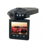 Dapatkan Segera Hd Dvr Car Video Recorder Hd 6 Ir Led 2 5 Inch Tft Color Lcd Hitam
