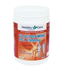 Jual Healthy Care Glucosamine Hcl 1500 Mg 400 Capsules Branded Original