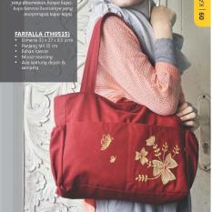 Promo Heejou Tas Kanvas Tote Shoulder Bag Di Indonesia