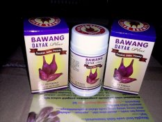 Jual Herbal Paket 2 Botol Bawang Makkah Bawang Dayak Plus 60 Kapsul Herbal Multi Manfaat Online