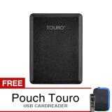 Beli Hgst Touro 1Tb Mobile External 1Tb Free Pouch Gratis Card Reader