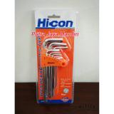 Promo Hicon Kunci L Set Panjang Isi 9Pc Hicon