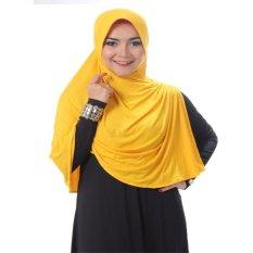 Hijab Bergo Nisrina - Kuning
