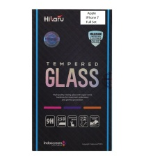 Kualitas Hikaru Tempered Glass Apple Iphone 7 8 Full Set Clear Hikaru
