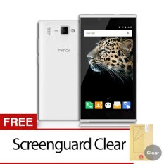 Himax Smartphone Bravo Y10 16GB - Putih + Gratis Screenguard Clear