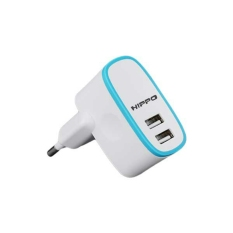Beli Hippo Adapter Charger Pupa 2A Simple Pack White Pakai Kartu Kredit