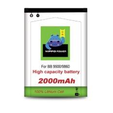 Jual Hippo Battery Blackberry Dakota 9900 2000 Mah Putih Hippo Online