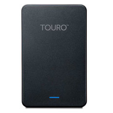 Hitachi Touro Mobile External Harddisk - 1TB - Hitam