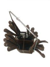 Katalog Hommey Sendok Makan Set Garpu Pisau Cokelat Hommey Terbaru