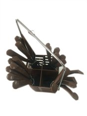 Spesifikasi Hommey Sendok Makan Set Garpu Pisau Cokelat Lengkap Dengan Harga