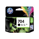 Tinta Printer HP 704 Black Original Ink Advantage Cartridge - Hitam