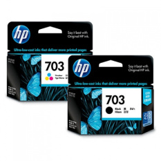 Jual Hp Cartridge 703 Black 703 Colour Ink Grosir
