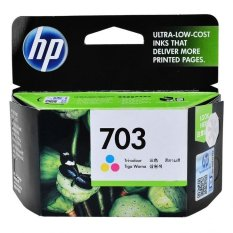 Jual Hp Ink 703 Tricolor Hp Branded
