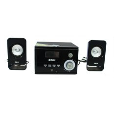IBOX HM2107 Multimedia Active Speaker - Hitam