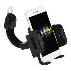 Icantiq Holder Motor Jepit untuk Spion motor / Tatakan HP di Motor / GPS Phone Holder for Motorcycl
