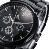 Jual Ik 98128 Wanita Watch Tiga Enam Pin Multi Fungsional Jam Tangan Mekanis Otomatis Jam Tangan Couple Watches Hitam Wajah Hitam Shell Branded