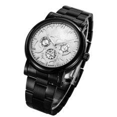 Jual Ik 98128 Wanita Watch Tiga Enam Pin Multi Fungsional Jam Tangan Mekanis Otomatis Jam Tangan Couple Watches Putih Wajah Hitam Shell Branded Original