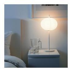 ikea Solleftea Lampu Meja Unik Minimalis - putih