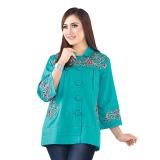 Ulasan Lengkap Inficlo Pakaian Wanita Atasan Blouse Bahan Cotton Srs 924