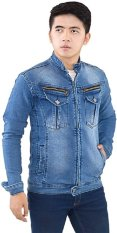Spesifikasi Inficlo Spi 436 Jaket Pria Jeans Strecth Biru Merk Inficlo