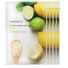 Jual Innisfree It S Real Squeeze Mask Sheet Set Of 5 Brightening Lime Free Innisfree It S Real Squeeze Mask Random Variant Antik