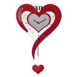 Beli Inno Foto Jam Dinding Kayu M8036 Love Merah Lengkap