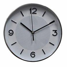 Harga Inno Foto Jam Dinding Ym 7555 Sweep Diameter 7 5 Inchi White Silver Online