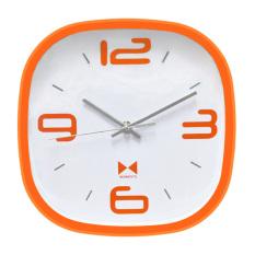 Inno Foto Jam Dinding YM-7851A 9x9 Inch - Oranye