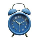 Jual Inno Foto Jam Weker Dengan Suara Lampu Sweep 2863 Diameter 7 6 Cm Biru Murah