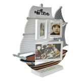 Spesifikasi Inno Foto Plastic Photo Frame 7284B Happiness Ship Putih Inno Foto