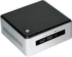 Intel NUC Mini PC - 4 GB - Core i5 Broadwell 5250U - NUC5I5RYH - Hitam