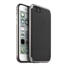 Ipaky Case Neo Hybrid Series Untuk Iphone 7 - Silver