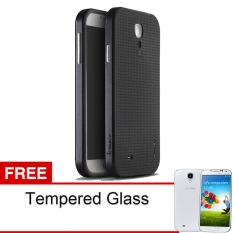 Ipaky Case Neo Hybrid Series Untuk Samsung Galaxy S5 - Black - Free Tempered Glass
