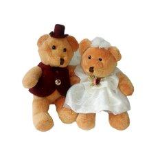 Istana Boneka Small Bear Couple - 18 cm a7a8c93d77
