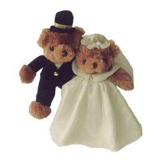 Istana Boneka Special Couple - Rasfur Brown - 30 cm f9f675da66