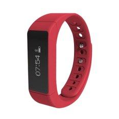 Iwown I5 Plus Smart Gelang Bluetooth Aktivitas Gelang Cerdas Olahraga Watch Langkah Tidur Track Caller Id Display Terbaru