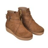 Spesifikasi Java Seven Boots Wanita Jeanny Bji 674 Coklat Yg Baik