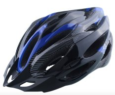 JAZ Helm Sepeda MTB Bicycle Helmet - Biru Hitam